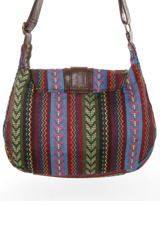 Important Discovery Tribal Print Handbag