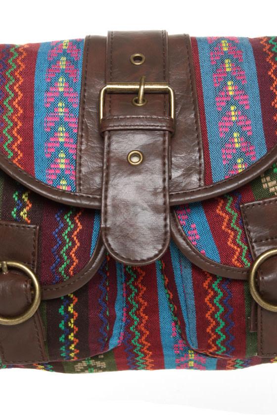 Important Discovery Tribal Print Handbag