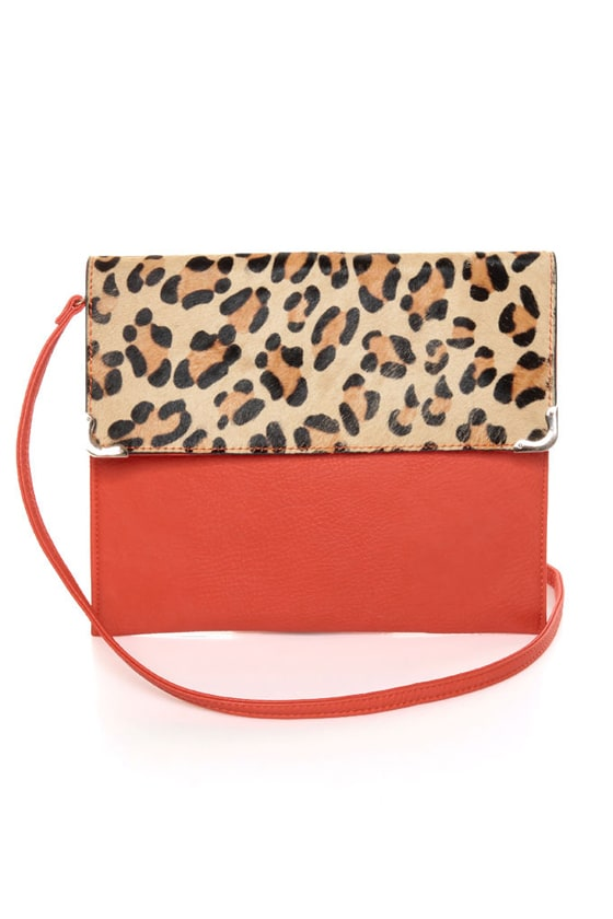 Leopard-y As a Picture Leopard Print Clutch