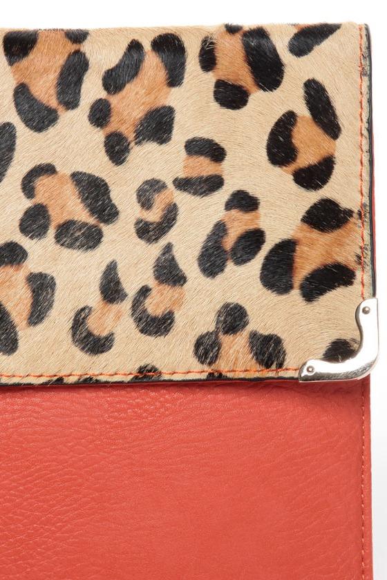 Leopard-y As a Picture Leopard Print Clutch