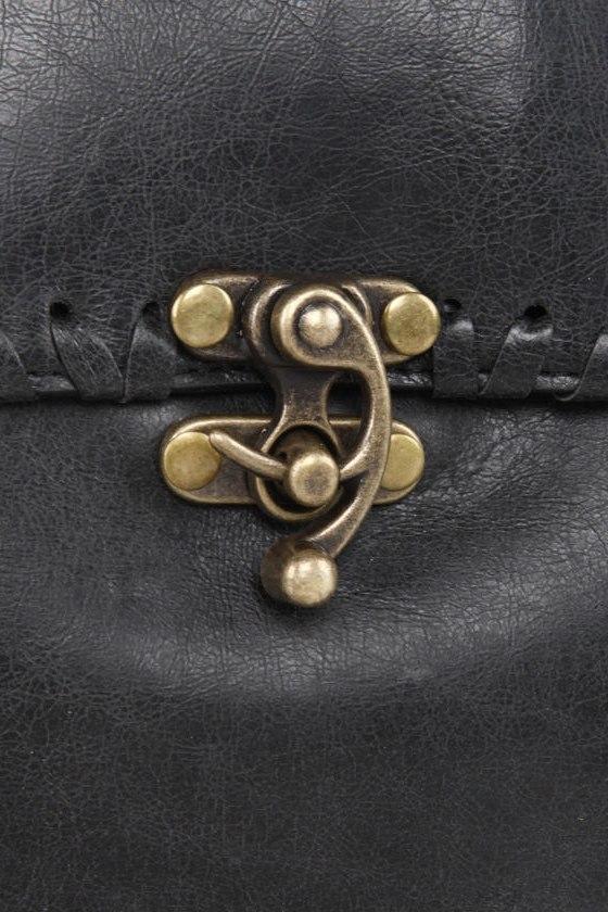 Harley Darling Structured Black Handbag