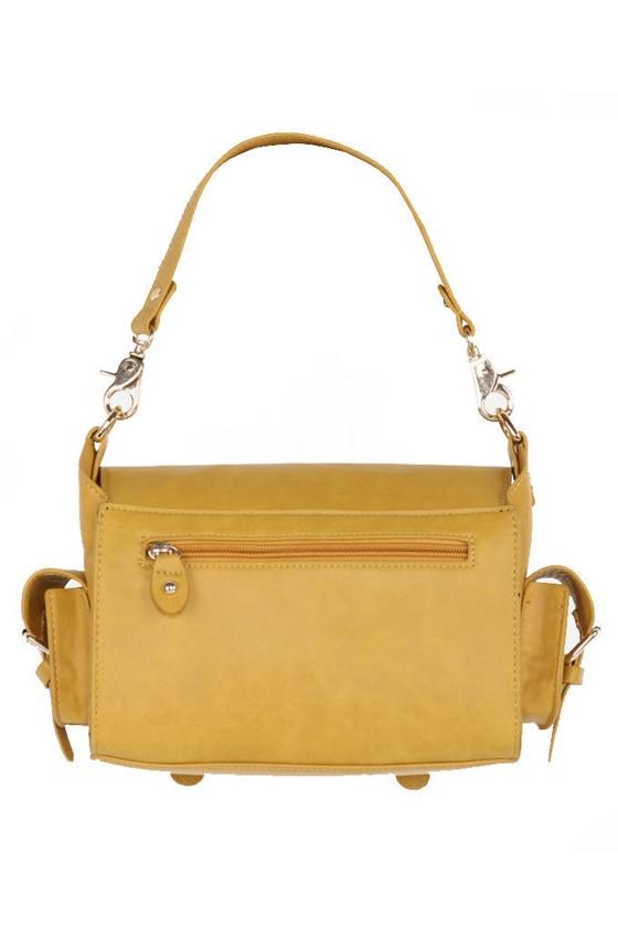 Carry On Mustard Yellow Purse