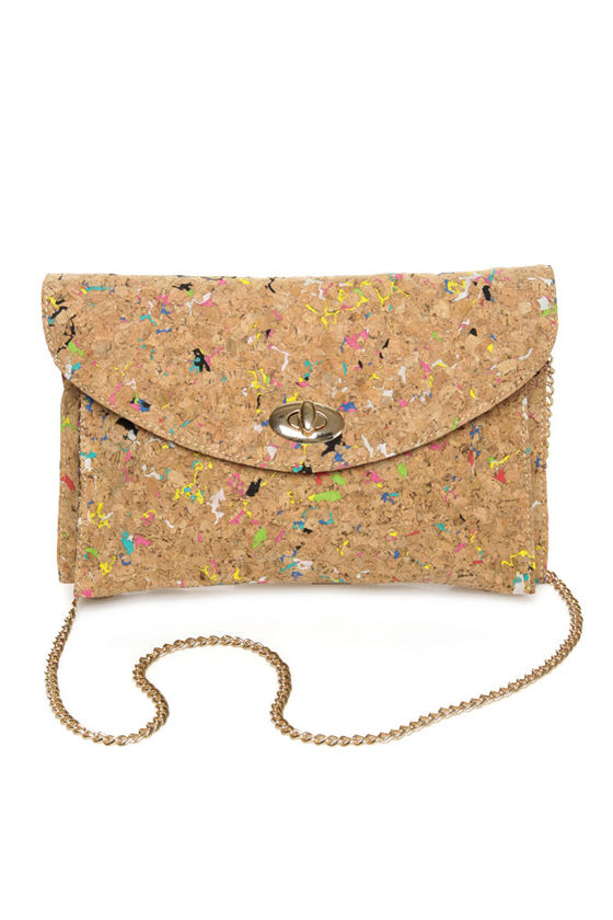 Pollock Pouch Multi Cork Clutch