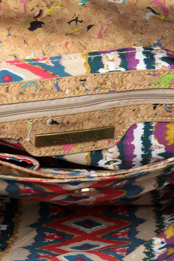 Pollock Pouch Multi Cork Clutch at Lulus.com!