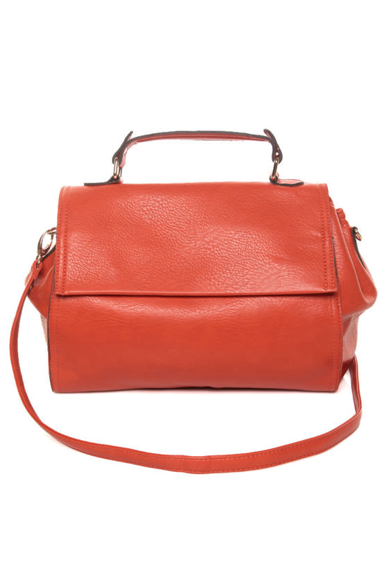 Oranges to Apples Orange Handbag