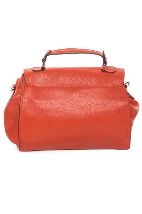 Oranges to Apples Orange Handbag at Lulus.com!