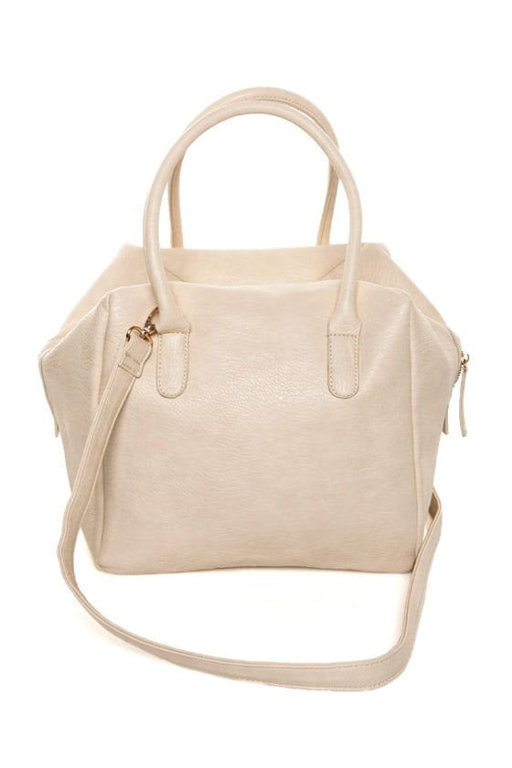 The Bowl-ed and the Beautiful Ivory Handbag