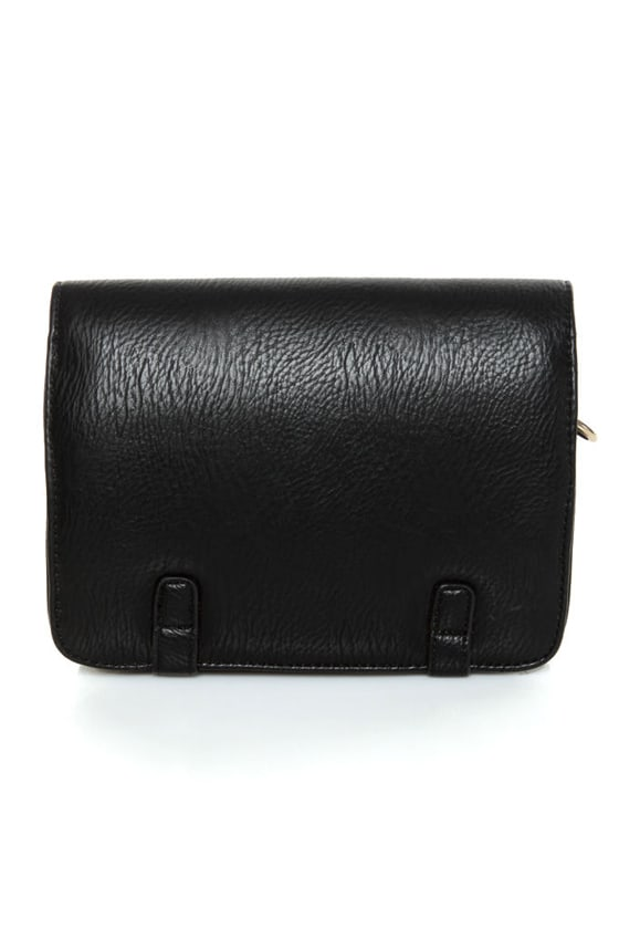 Tell Me About It, Stud Black Purse at Lulus.com!