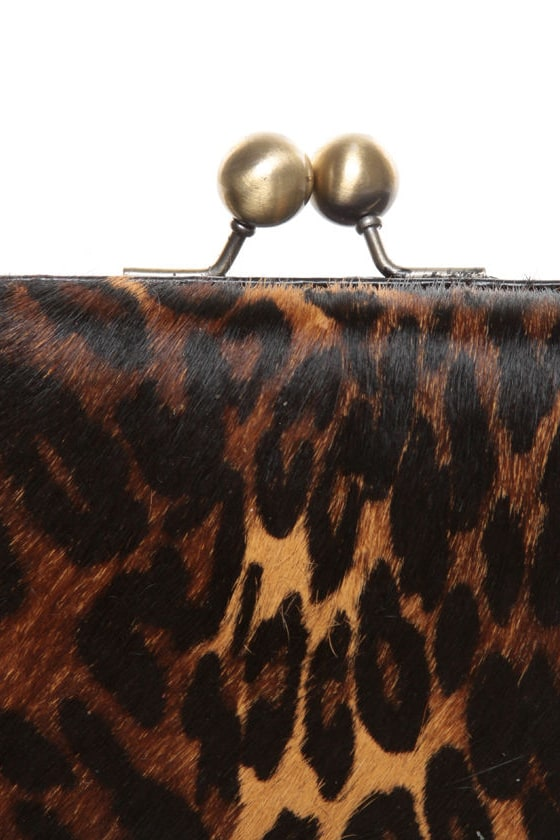 Chic 7 Animal Print Clutch
