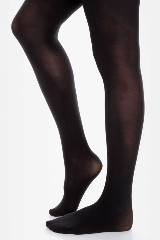 Tabbisocks Time of the Season Black Tights