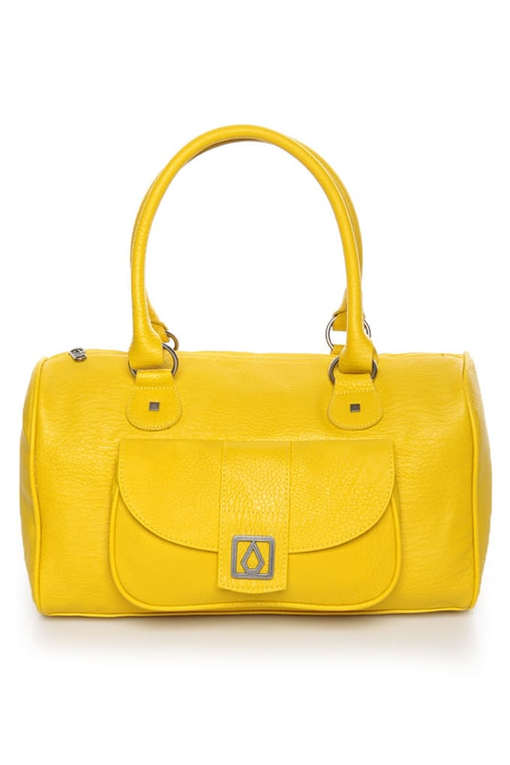 Volcom Candy Shop Yellow Handbag at Lulus.com!
