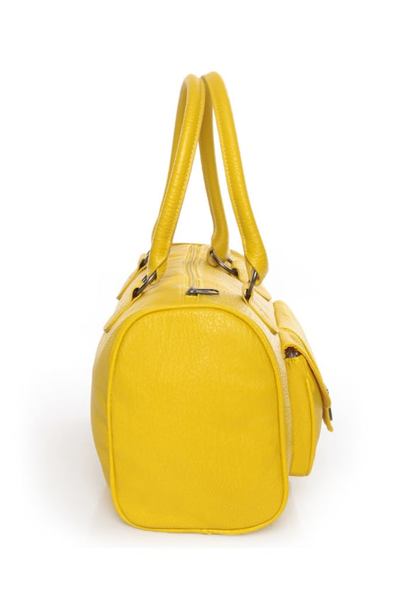 Volcom Candy Shop Yellow Handbag