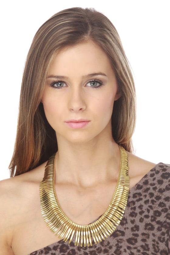 Zad Atum-Ra Gold Necklace