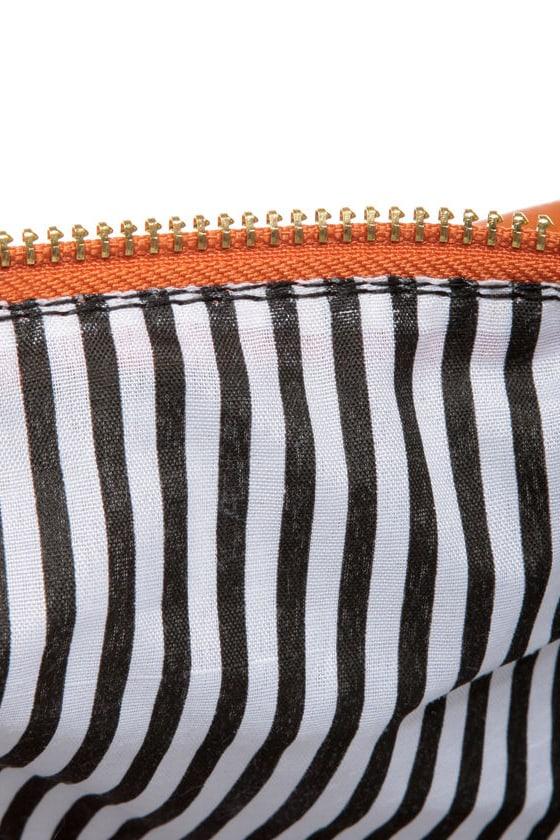 Tribeca Triumph Orange Handbag