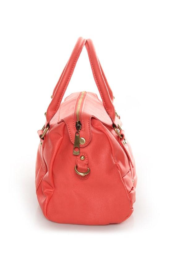 Personal Shopper Coral Handbag