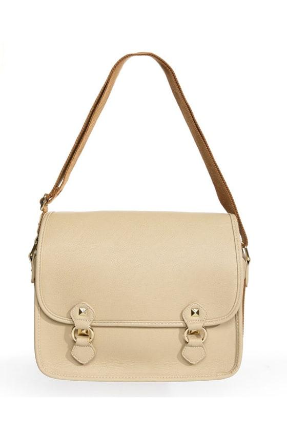 Toaster Pastry Beige Handbag at Lulus.com!