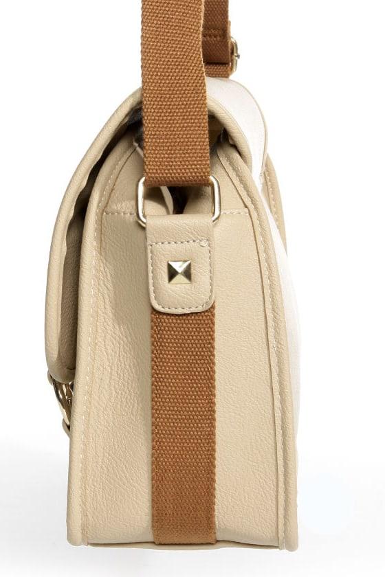 Toaster Pastry Beige Handbag