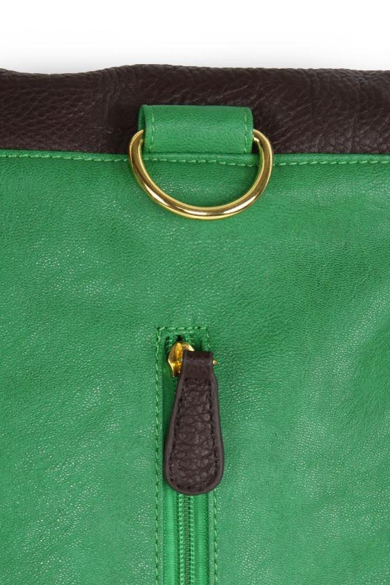 Changeling Three Ways Green Bag