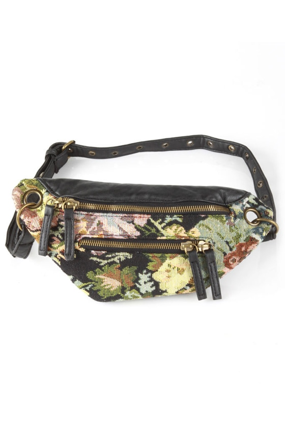 Hip Hip Hooray Floral Fanny Pack