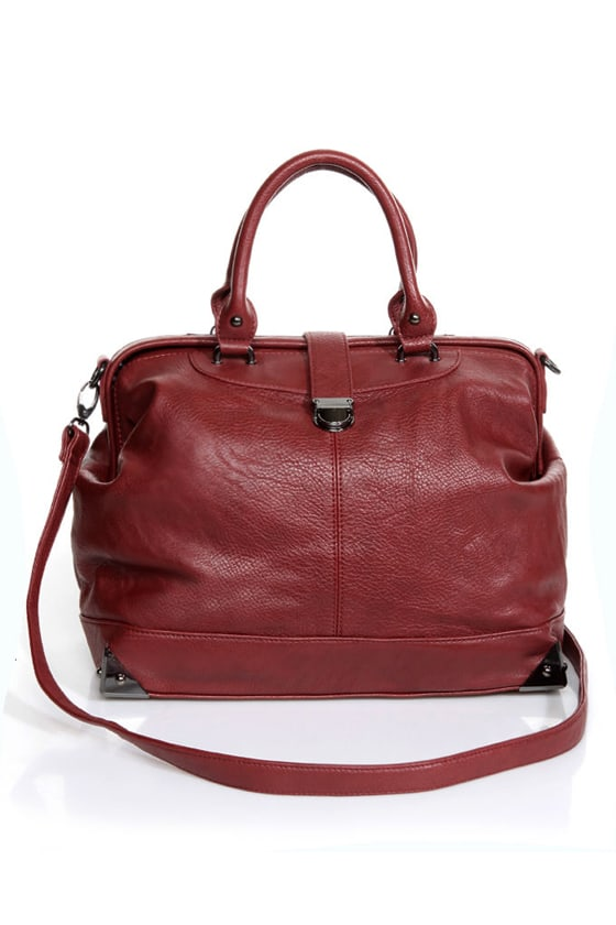 What\\\\\\\\\\\\\\\'s Up, Doc? Oxblood Handbag