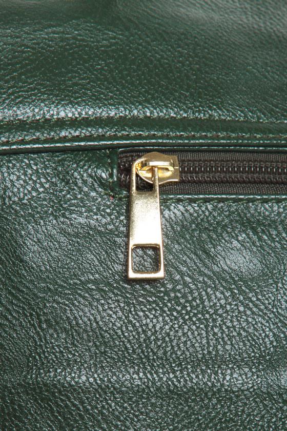 League of Extraordinary Gentlewomen Green Handbag