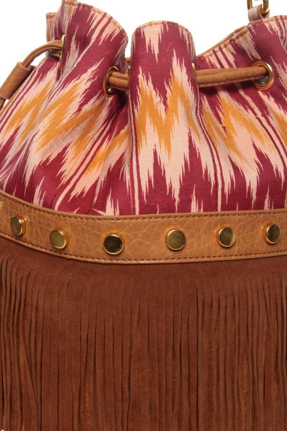 Western Skies Fringe Handbag