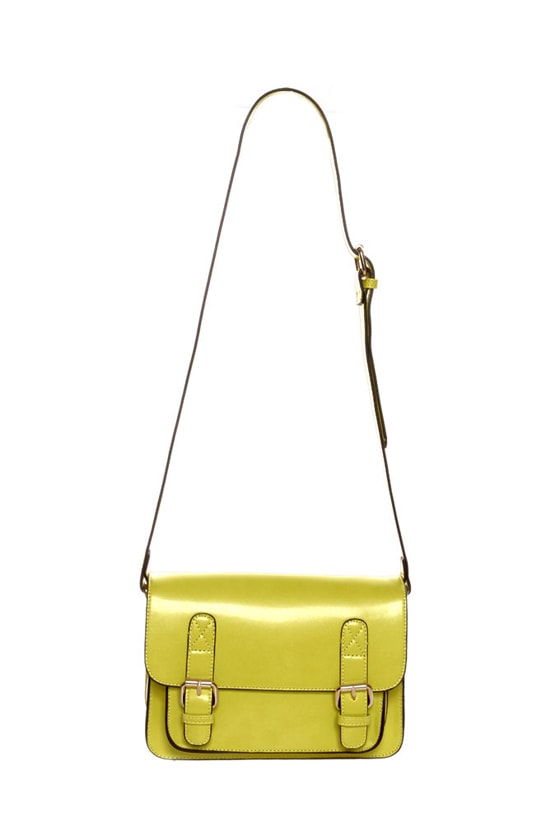 Star-Structured Yellow Purse at Lulus.com!