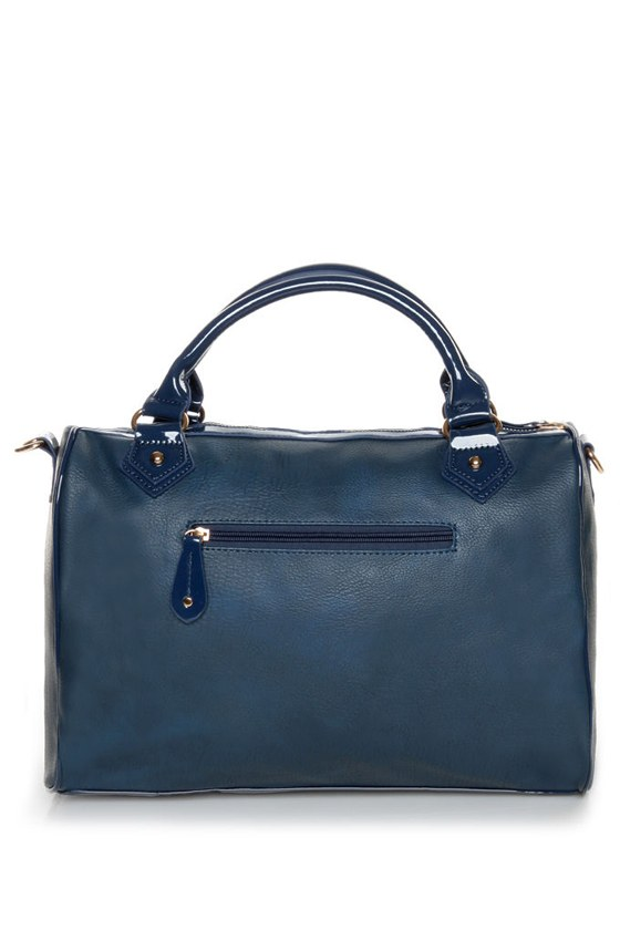 You Can Take it With You Blue Handbag at Lulus.com!