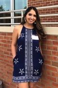 26b19c7f6863d Cute Navy Blue Dress - Print Dress - Halter Dress - $34.00
