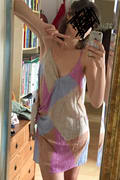 O Neill Marlo Beige Multi Print Dress Wrap Dress